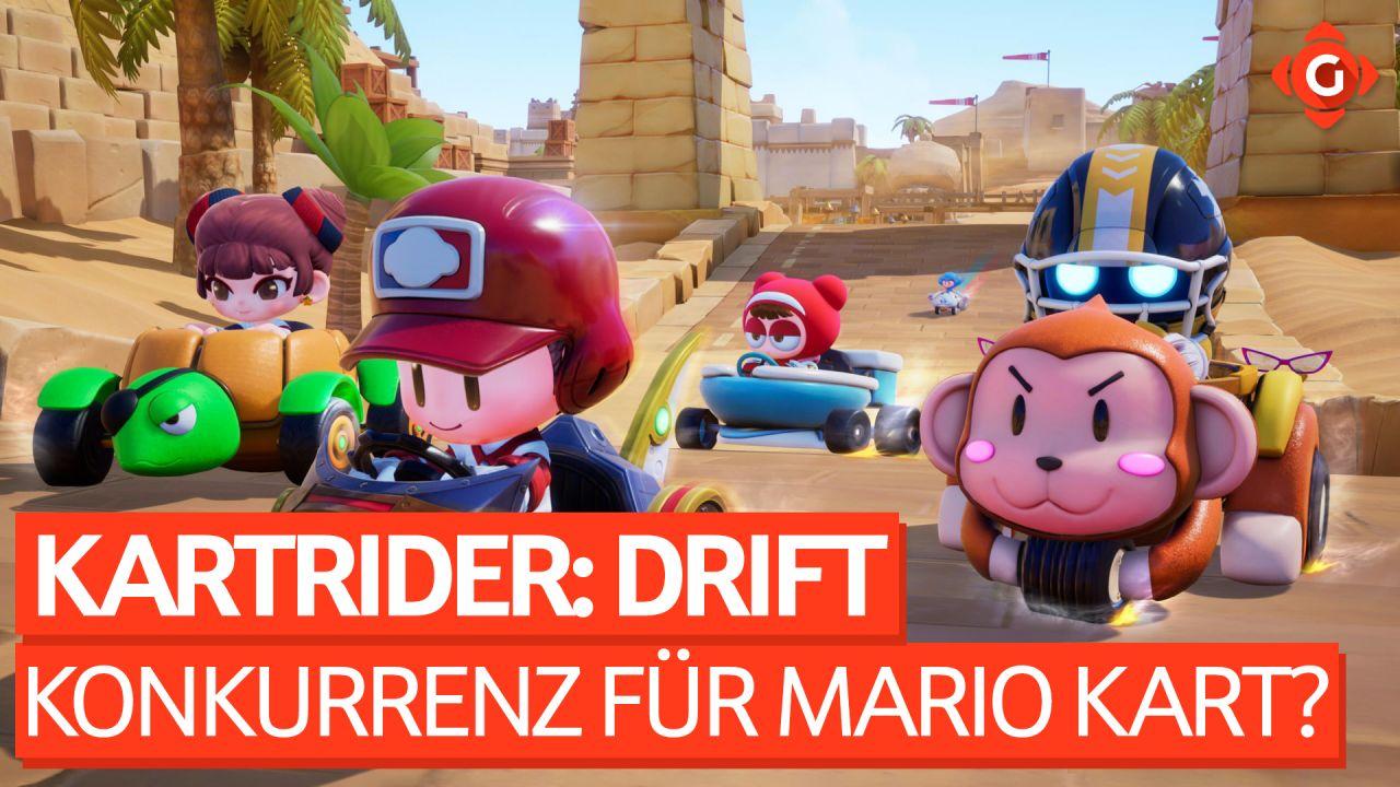 Echte Konkurrenz für Mario Kart? - Beta-Preview zu KartRider: Drift