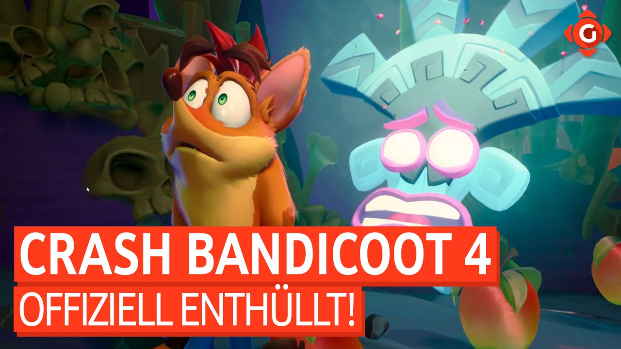 Gameswelt News 22.06.20 - Mit Crash Bandicoot 4: It's About Time, Dirt 5 und mehr
