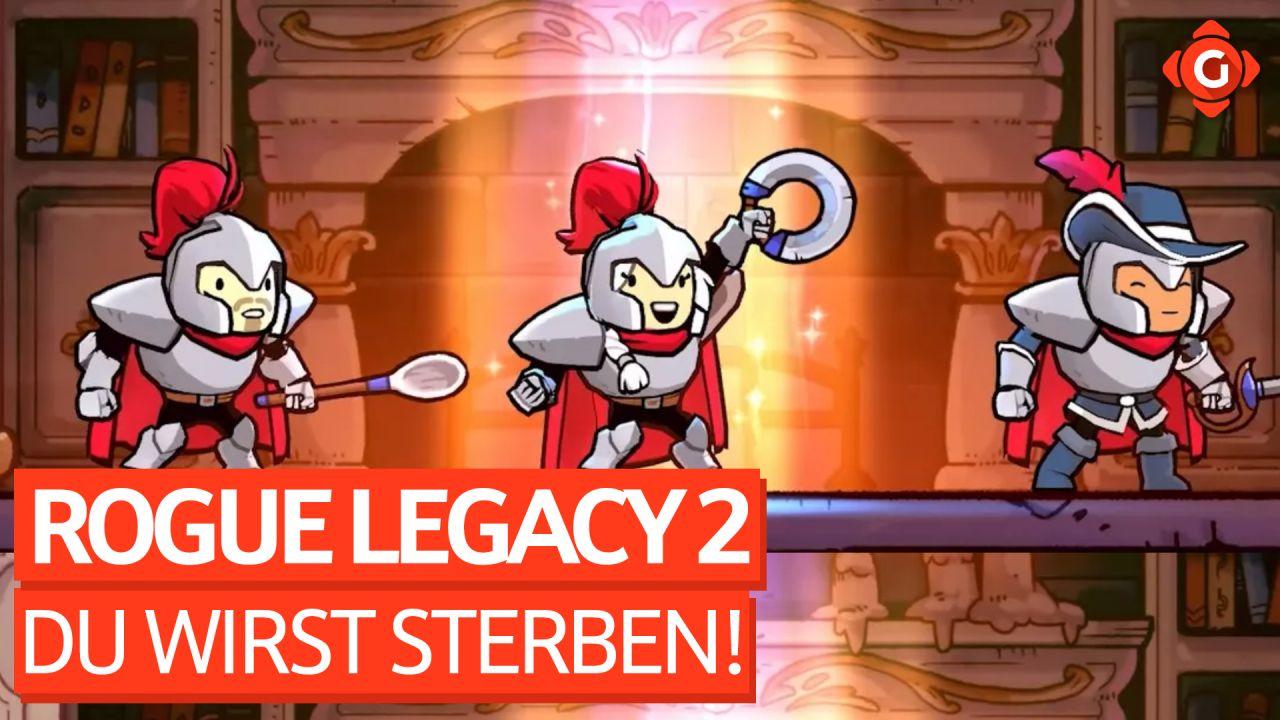 Selten hat Sterben so viel Spaß gemacht - Zocksession zu Rogue Legacy 2