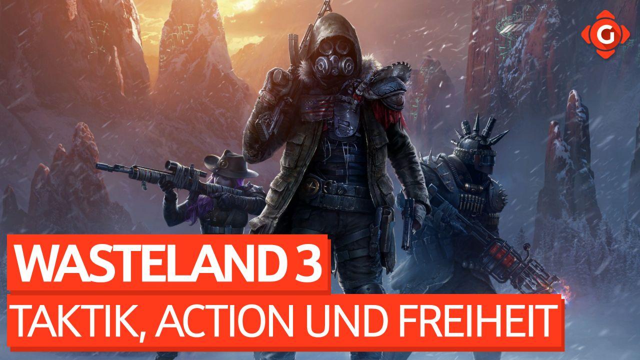 Viel Taktik, Action und noch mehr Freiheit - Video-Review zu Wasteland 3