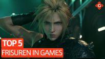 Top 5 - Frisuren in Games