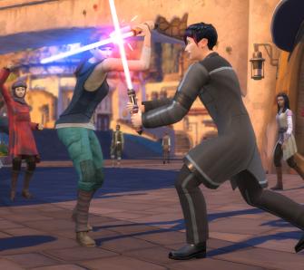 Die Sims 4: Star Wars – Reise nach Batuu - Test