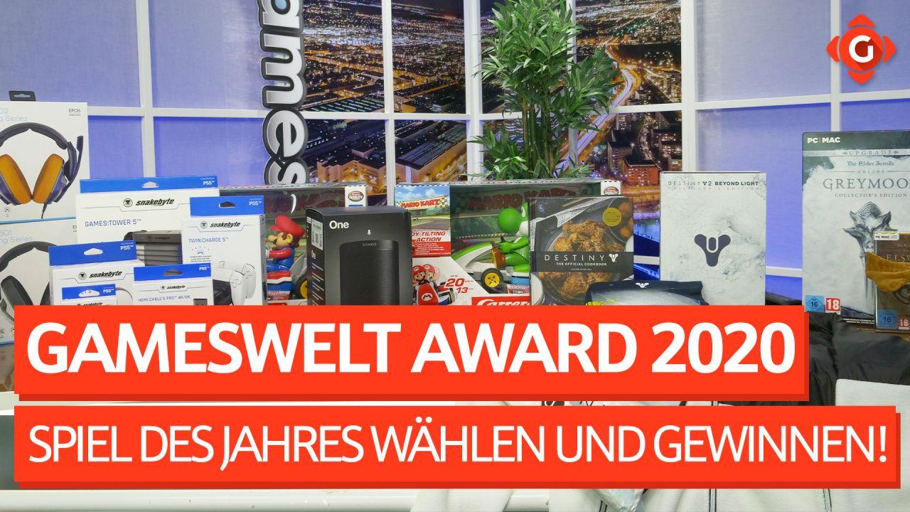 Gameswelt Leser-Award 2020 - Wählt das Spiel des Jahres und gewinnt tolle Preise!