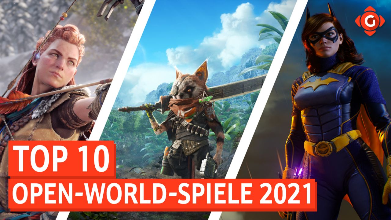 Top 10 - Open-World-Spiele 2021