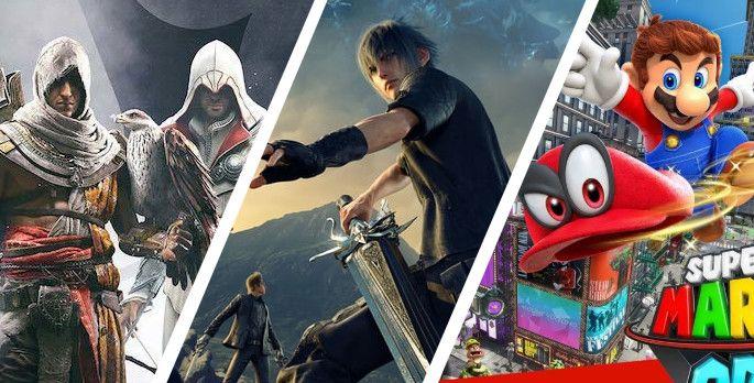 Top 10: Spiele mit den meisten Ablegern - Special