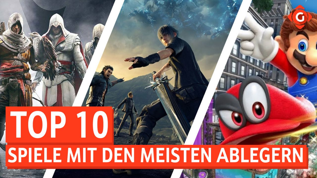 Top 10 - Spiele mit den meisten Ablegern