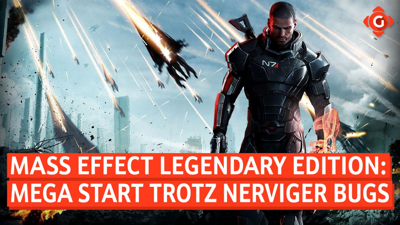 Gameswelt News 18.05.2021 - Mit Mass Effect: Legendary Edition, F1 2021 und mehr