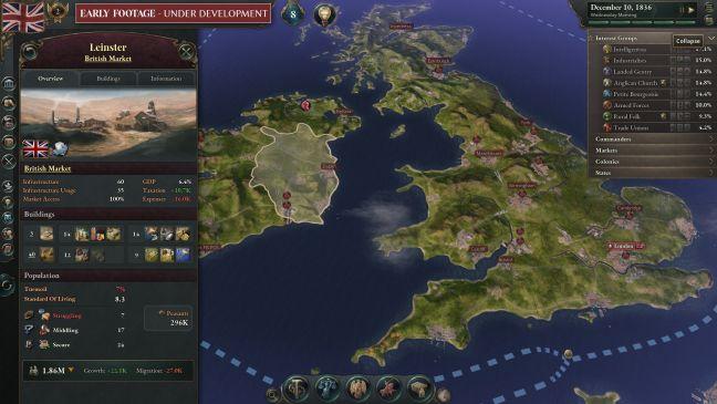 Victoria 3 - Screenshots - Bild 2
