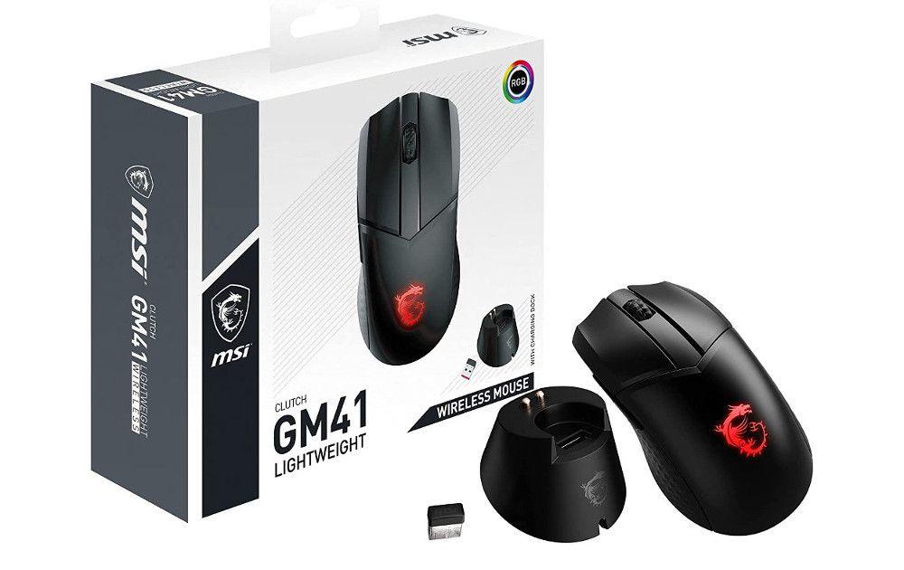 MSI Clutch GM41 Lightweight Wireless - Kampagne