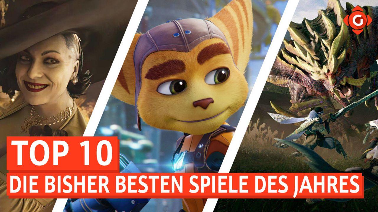 Top 10 - Die bisher besten Spiele des Jahres