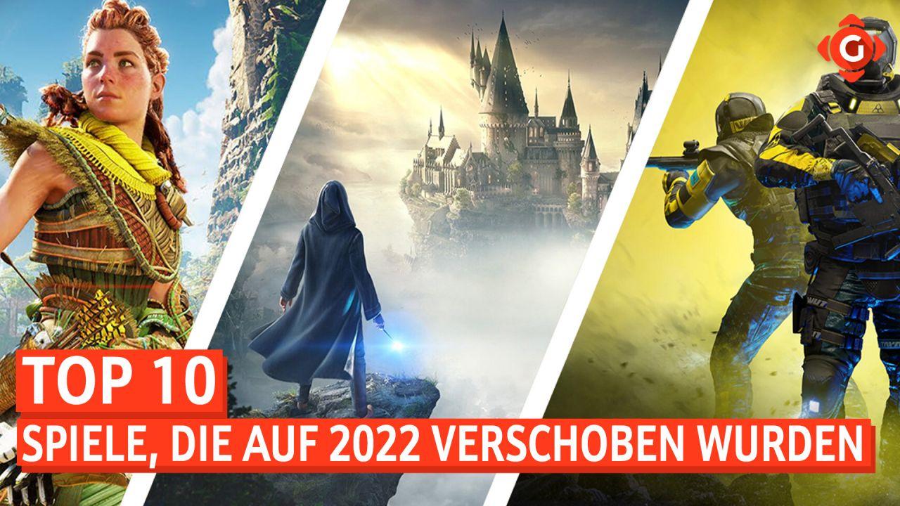 Top 10 - Spiele, die auf 2022 verschoben wurden