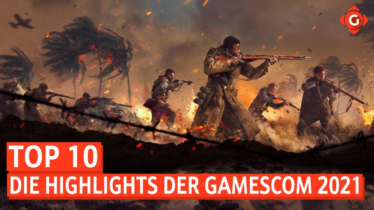Top 10 - Die Highlights der Gamescom 2021