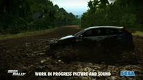 SEGA Rally - Trailer: Tropische Umgebung