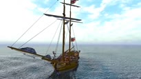 Pirates of the Burning Sea - Wasserkampf-Trailer