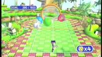 SEGA Superstars Tennis - Super Monkey Ball Minigame