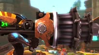 Ratchet & Clank: A Crack in Time - PAX 09 Weapons Trailer