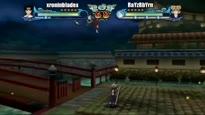 Naruto: Clash of Ninja Revolution 3 - Tenten vs. Temari Gameplay