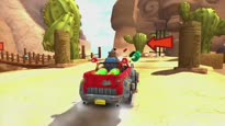 Sonic & Sega All-Stars Racing - UK Banjo Kazooie Trailer