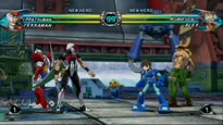 Tatsunoko vs. Capcom - Ippatsuman vs Mega Man Gameplay