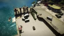 Just Cause 2 - Anatomy of a Stunt: Tuk Tuk Guided Missile Trailer