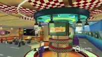 PlayStation Home - ModNation Racers Space Trailer