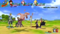Arc Rise Fantasia - E3 2010 Bosses & Monsters Gameplay