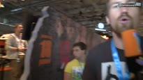 gamescom 2010 Standtour durch Halle 7 - Halle 7 mit Sony, Konami, Ubisoft und natürlich Gameswelt