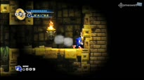 Sonic the Hedgehog 4: Episode 1 - Lost Labyrinth Zone Gameplay