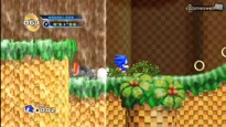 Sonic the Hedgehog 4: Episode 1 - Splash Hill Zone Gameplay
