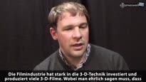 Sony 3-D - Video Interview mit Mick Hocking