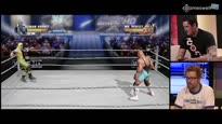 WWE All Stars - WWE Superstar Wade Barrett vs. Die menschliche Hornisse