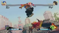 Super Street Fighter IV Arcade Edition - Yun vs. Yang Gameplay