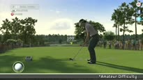 Tiger Woods PGA Tour 12: The Masters - Tips On Amateur Difficulty Trailer
