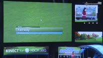 Kinect Sports: Season Two - E3 2011 Golf Live-Demo