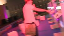 gamescom 2011 Standtour durch Halle 7 - Halle 7 mit SONY und der Gameswelt-Bühne