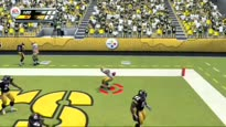 NFL Blitz - Full Quarter of Gameplay (Steelers vs Packers) Trailer