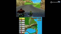 Mario Kart 7 - Staaart! Zwei komplette Rennen