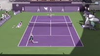 Grand Slam Tennis 2 - Staaart! Nina vs. Ashley Elliot