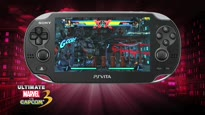 Ultimate Marvel vs. Capcom 3 - PS Vita Gameplay Trailer #2