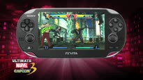 Ultimate Marvel vs. Capcom 3 - PS Vita Launch Trailer