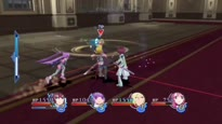 Tales of Graces F - Major Victoria Battle Gameplay Trailer