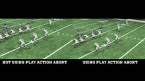 NCAA Football 13 - How to Use the All New Play Action Abort Trailer