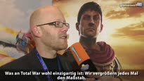 Total War: Rome 2 - gamescom 2012 Video Interview mit Al Bickham