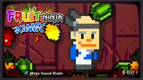 Fruit Ninja Kinect - 8-Bit Cartridge DLC Music Remix Trailer