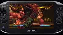 Street Fighter X Tekken - NYCC 2012 PSV Street Fighter Gameplay Trailer