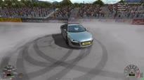 X Motor Racing - Tire Smoke Trailer