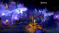 Trine 2: Director's Cut - Updated Graphics Comparison Trailer