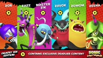 Sonic Lost World - Deadly Six Extended Trailer
