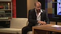 WWE Superstar Antonio Cesaro - Zu Besuch bei uns im Studio