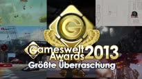 Gameswelt Awards 2013 - Größte Überraschung
